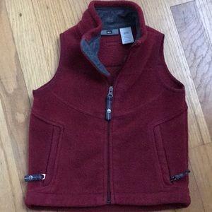 REI boys fleece vest